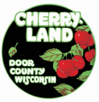 Cherry Land Tourism Sticker