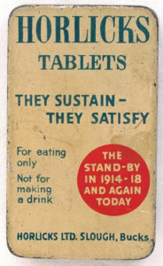 Horlick's tablets produced at the company's UK plant in Slough, c. 1940.