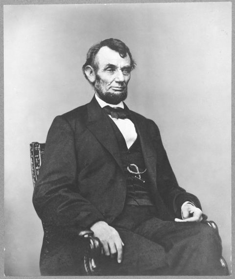 Abraham Lincoln. Image courtesy of Library of Congress Prints and Photographs Division.