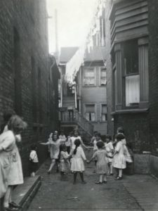Children in Tenement Section, Chicago, 1923. Image courtesy of Wisconsin Historical Society, ID: 82770