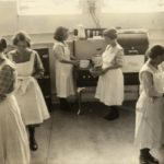 Northern Wisconsin Center Home Economics Class, c. 1930. Image courtesy of Wisconsin Historical Society, ID: 99239