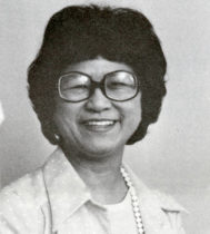 Helen Onyett, c. 1970. Photograph courtesy of the Marathon County Historical Society.