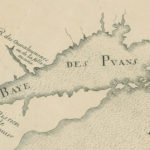 French map detail showing the Baye des Puans