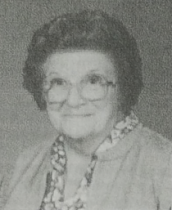 A studio portrait of Emelie taken when she was a grandmother. Image courtesy of the Marathon Historical Society.