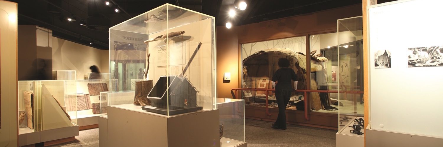 an image showing the interior of the busy year exhibit